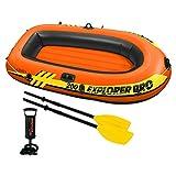 Intex Explorer Pro 200 Set Schlauchboot - 196 X 102 X 33 cm - 3-teilig - Orange