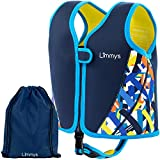 Limmys Premium Neopren Schwimmweste, ideale Schwimmhilfe für Jungen, EXTRA Kordelzugtasche inklusive (Small)