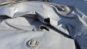 Schlauchboot reparieren