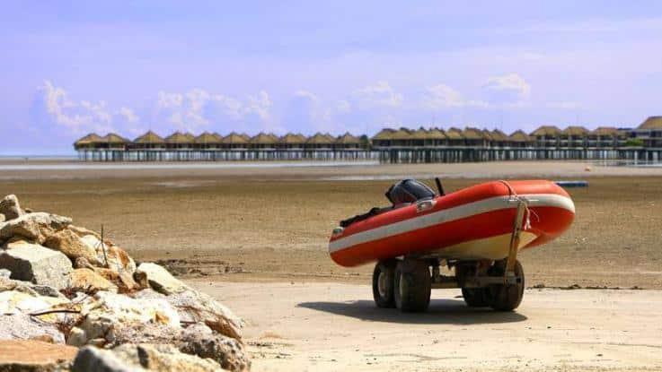 Schlauchboot Trailer Transport