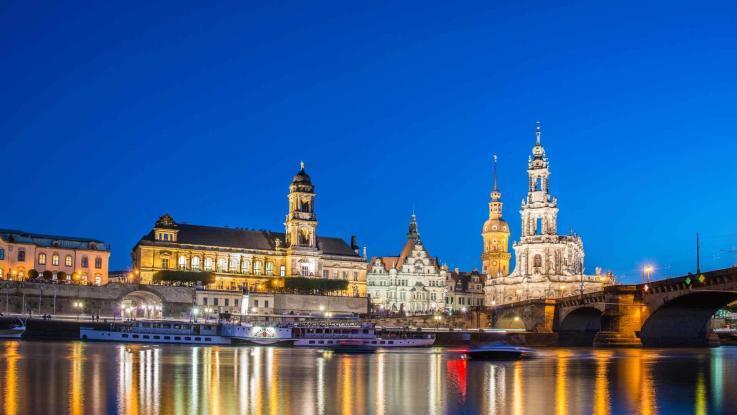 Elbe Bootstour Dresden Altstadt